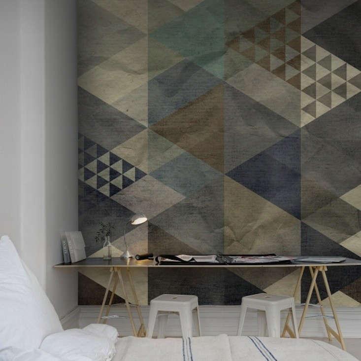 Rebel-Walls-Wallpaper-Art-Quadrangle-Blue-02-Remodelista