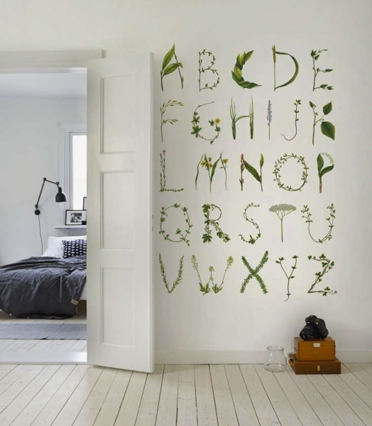 Rebel-Walls-Wallpaper-Greenhouse-abc-for-the-spelling-bee-Remodelista