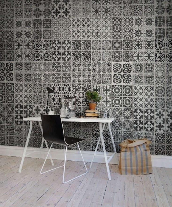 Rebel-Walls-Wallpaper-Marrakech-Black-Remodelista