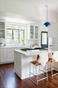 Barbara Bestor classic kitchen design in LA for Abby Weintraub| Remodelista