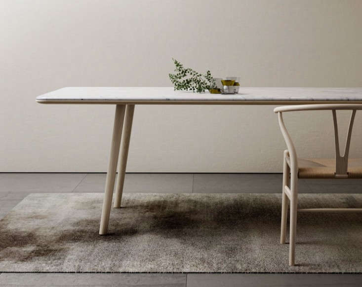 10 Easy Pieces: Marble-Top Dining Tables: Remodelista