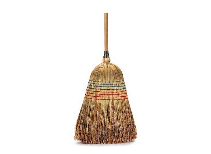 Rice straw broom manufactum remodelista 733x536