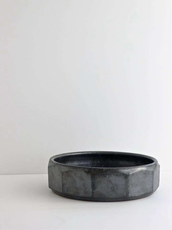 Richard Ostell Roger Lee Geometric Sided Bowl