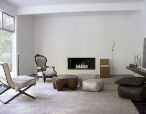 Living room of Robert and Christina Odegard of Matin | Remodelista