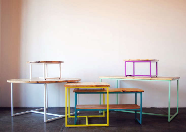 Colorful Tables from an Etsy Star Remodelista