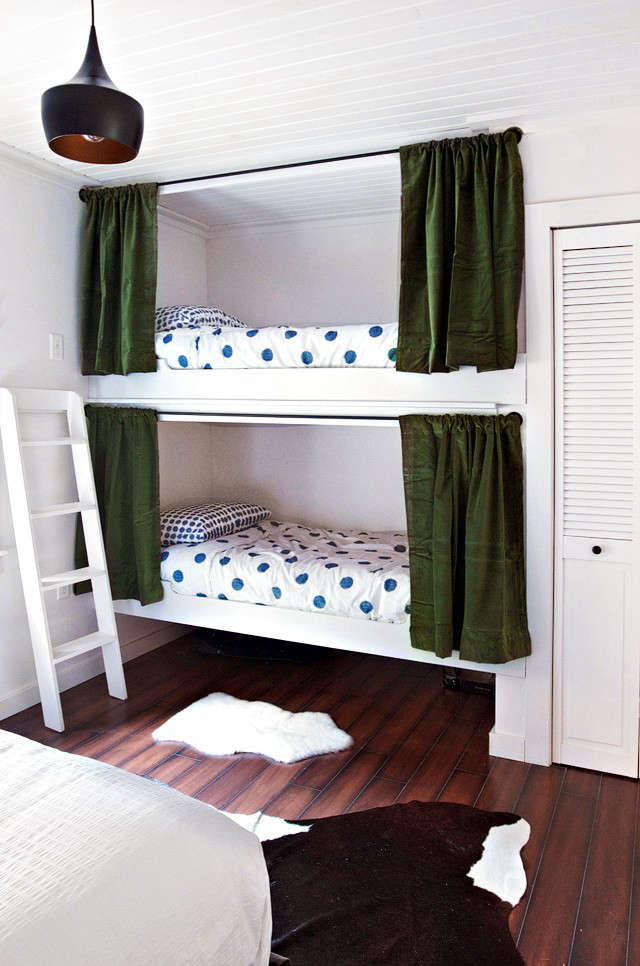 Sarah Sherman Samuel bedroom-bunks