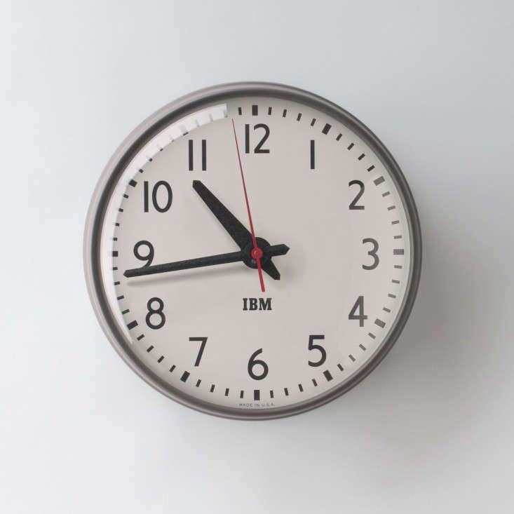 Schoolhouse-Electric-IBM-clock-Remodelista