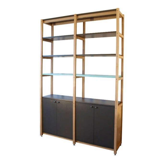 Scout-Regalia-SR-Bookcase-2-Bay-Remodelista