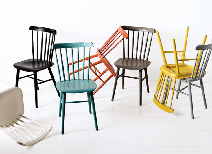 Colorful Classic Chairs on a Bud Remodelista