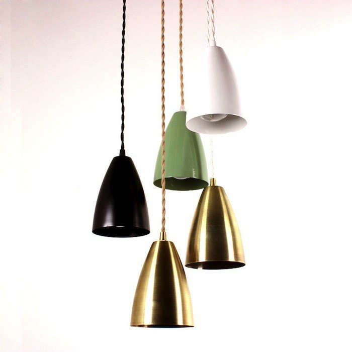 Shaded Pendant Lamp-OneFourtyThree-Remodelista