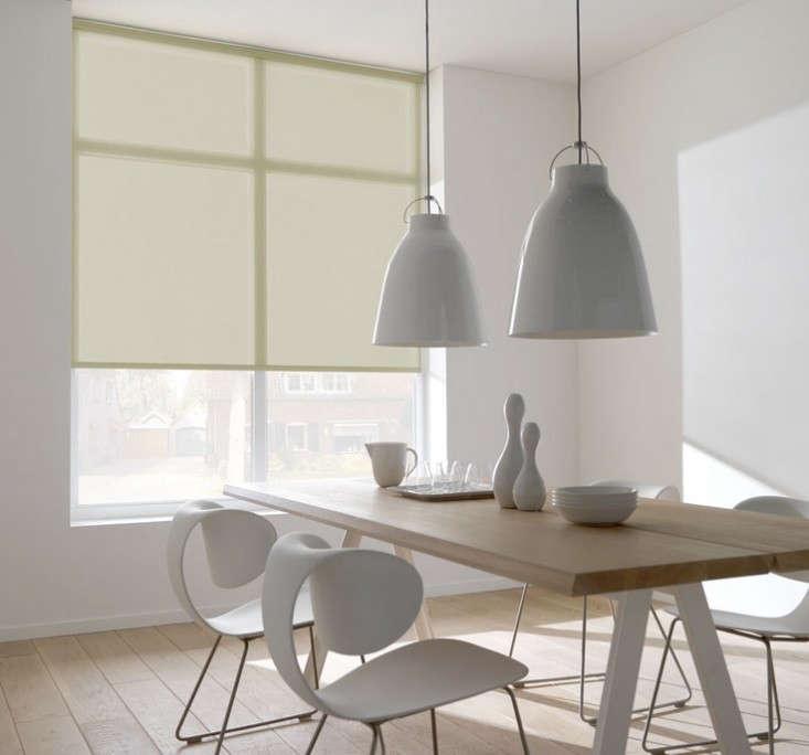 Sheer-Roller-Blinds-White-Dining-Room-Remodelista