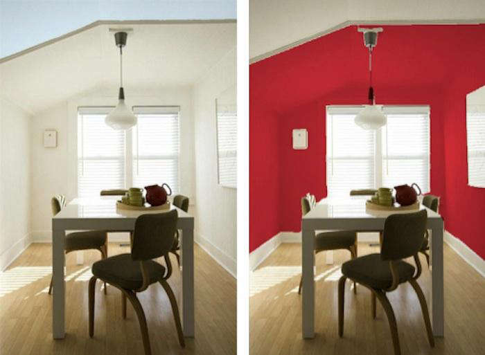 Palette paints visualizing color with sherwin williams remodelista for Interior paint color visualizer