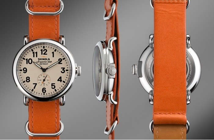 Shinola-Runwell-watch-orange-remodelista