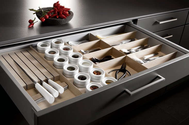 mise en place kitchen tool drawer organizers remodelista