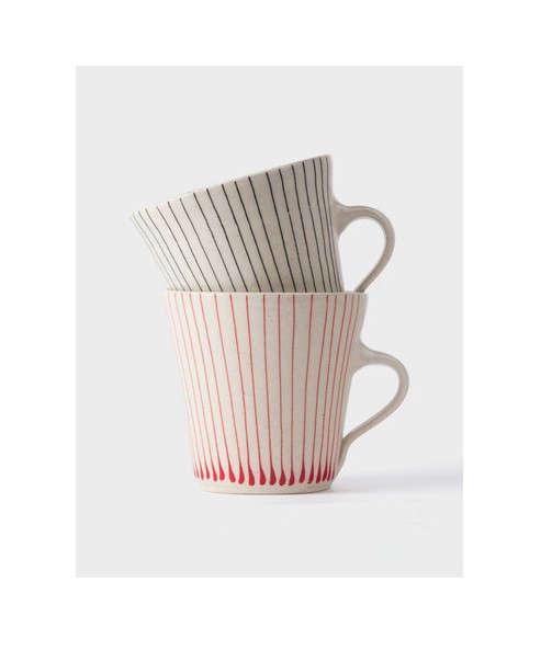 Skinny-Stripe-Stoneware-Mug-by-Wonki-Ware-via-Dara-Artisans-Remodelista-2