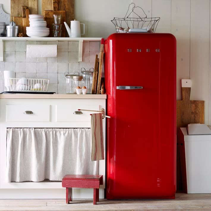 Red And Green Kitchen: Trend Alert: 13 Kitchens With Colored Refrigerators