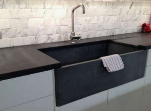 M. Teixeira Soapstone Countertop and Sink, Remodelista