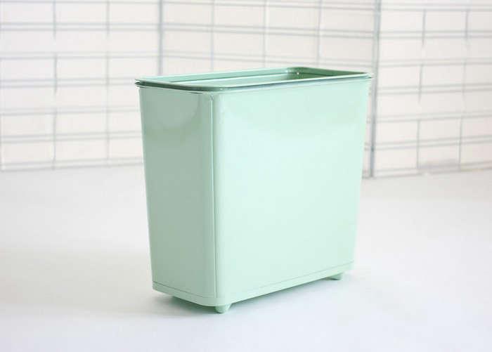 Square-Waste-Basket-Mint-Daily-General-Remodelista
