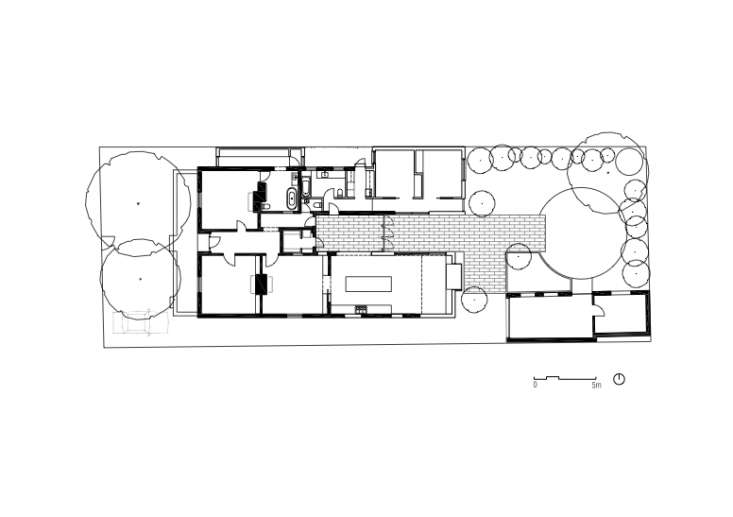 St Kilda East House-Plan-Claire-Cousins-Architects-Remodelista