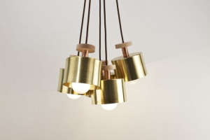 Standard Socket Spun cluster light by Ladies & Gentleman| Remodelista