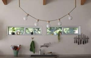 Standard Socket Strung lights by Grain | Remodelista