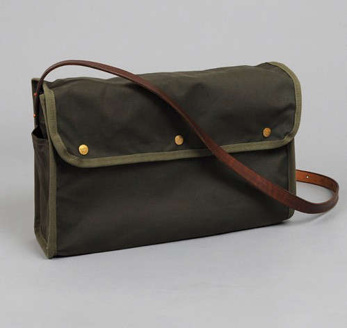Stanley and Sons Olive Drab Bread Bag, Gifts for the Techie, Remodelista