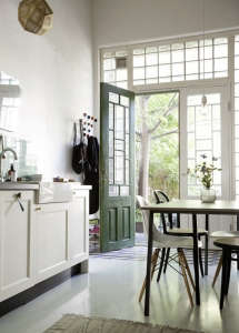 A Kitchen in Sweden via Lovely Life I Remodelista