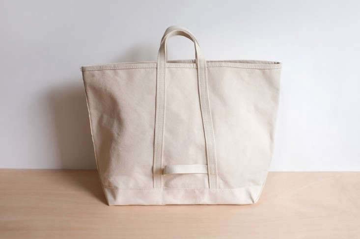 Object Lessons The Classic Canvas Tote Remodelista