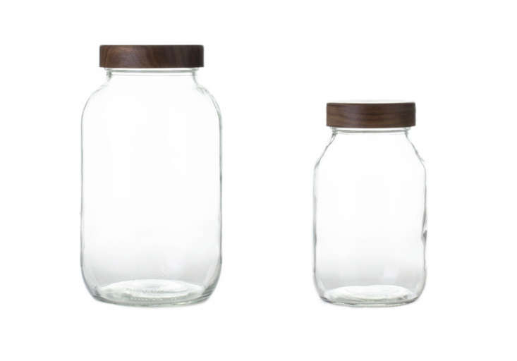 Storage-jars-with-walnut-lids-Old-Faithful-Shop-Remodelista