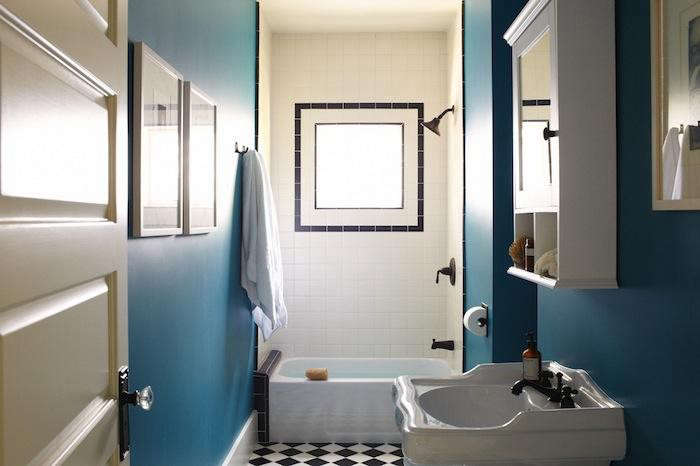 Teal Bath by SIMO Design_Remodelista