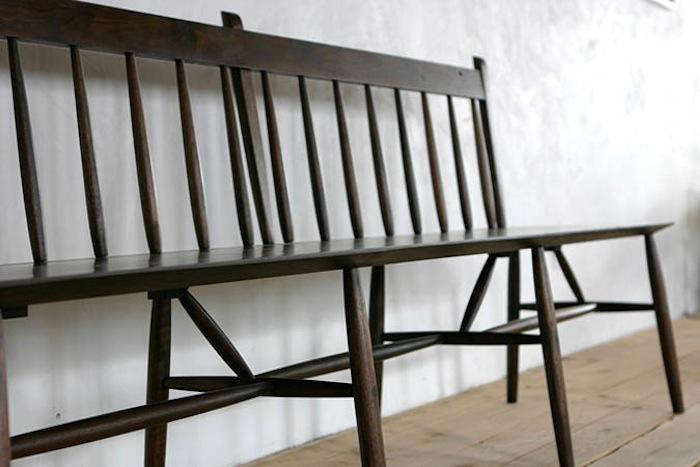 Fabulous 10 Easy Pieces Best Wooden Spindle Benches Remodelista Pabps2019 Chair Design Images Pabps2019Com