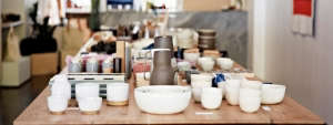Stoneware Ceramics at The Primary Essentials in Brooklyn, New York | Remodelista
