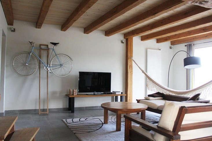 a portable bike rack for urban aesthetes remodelista. Black Bedroom Furniture Sets. Home Design Ideas