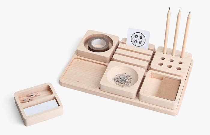 5 Favorites The Desk Set Natural Wood Edition Remodelista