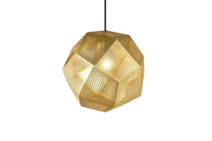 Tom-Dixon-Brass-Pendant-Lamp-Perforated-Remodelista