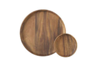 Tondo 6-Inch Wooden Plates from Crate & Barrel, Remodelista