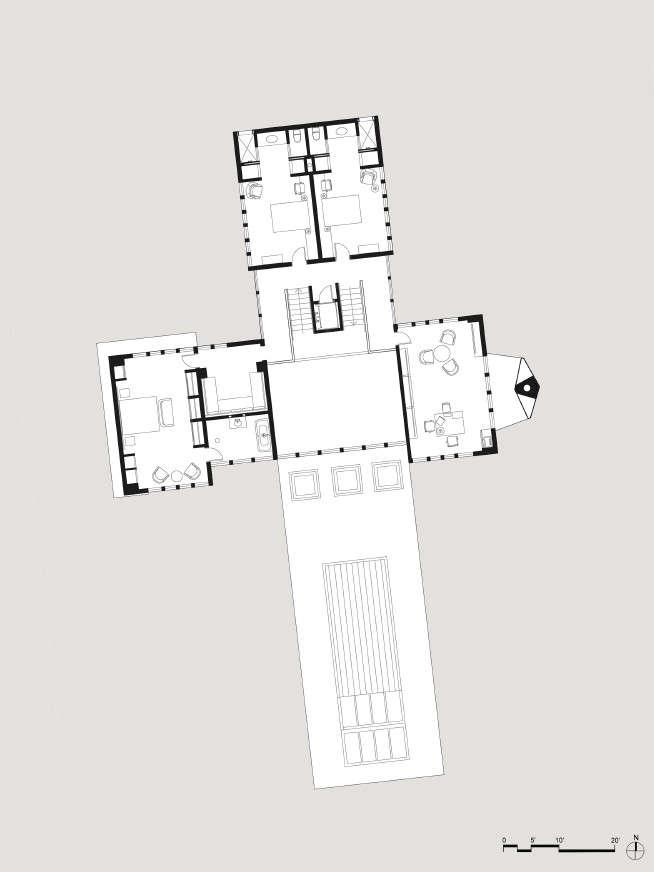 Tsao-McKown-Piedmont-House-floor-plan-second-floor-Remodelista