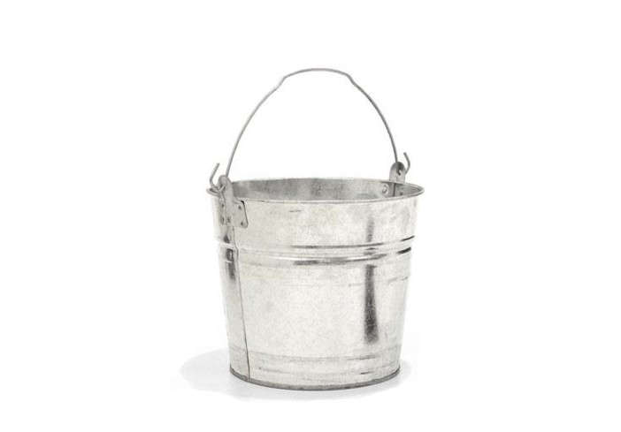 Two-Gallon-Galvanized-Bucket