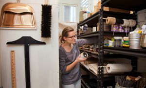 Ultimate Organization Project in Meredith Swinehart's Utility Closet, Home for the Holidays with The Home Depot, Remodelista