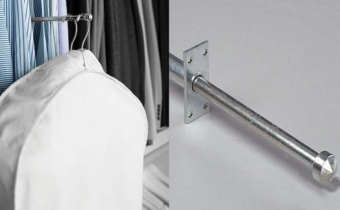 5 Quick Fixes Closet Valet Rods And Hooks Remodelista