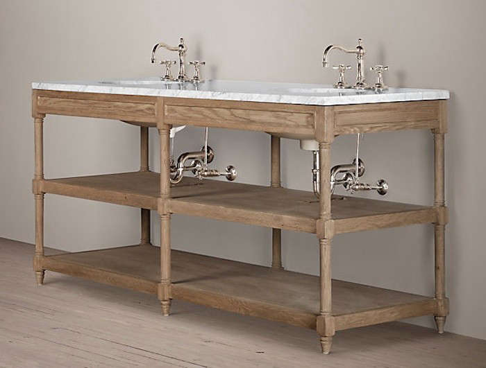 Weathered-Oak-Double-Washstand-Restoration-Hardware-Remodelista