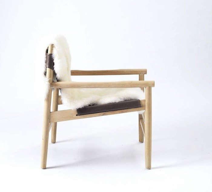 West-Elm-Fur-Leather-Sling-Chair-Remodelista1