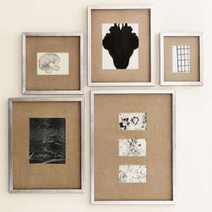 West Elm Gallery Frames in Antique Silver | Remodelista
