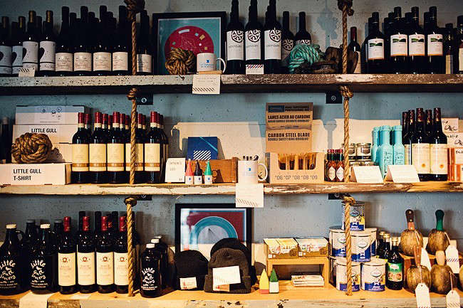 Westward-restaurant-Seattle-shelving-Remodelista