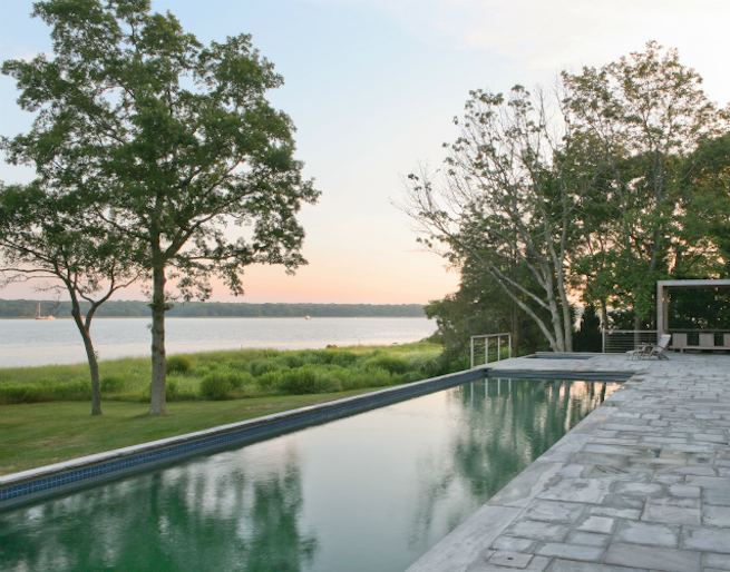 Wettling Architects Beach House Shelter Island Pool