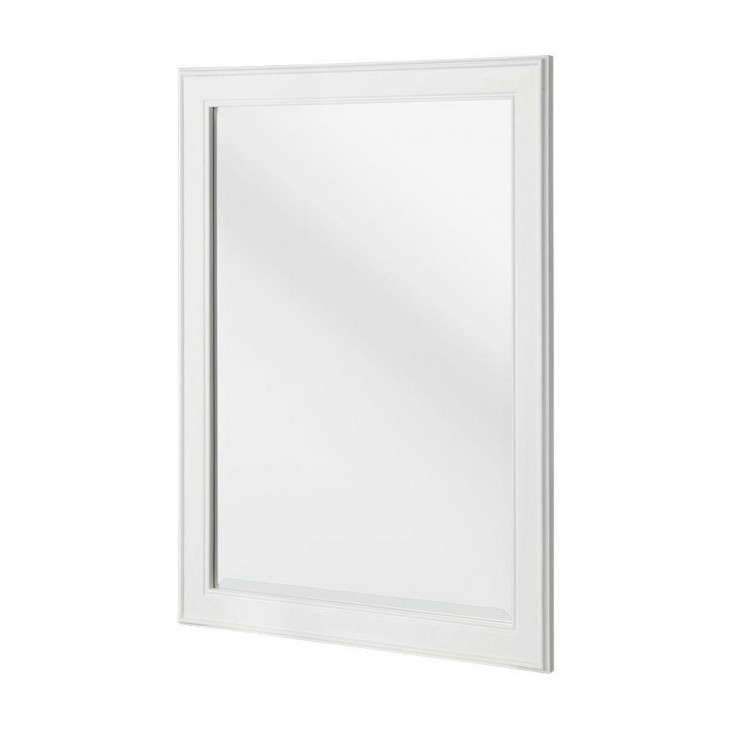 White Wood Mirror from The Home Depot, Remodelista