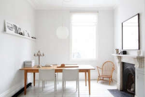 Dining room in Victorian house in Stoke Newington, London | Remodelista