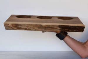 Wooden Palate Three Dip/Remodelista