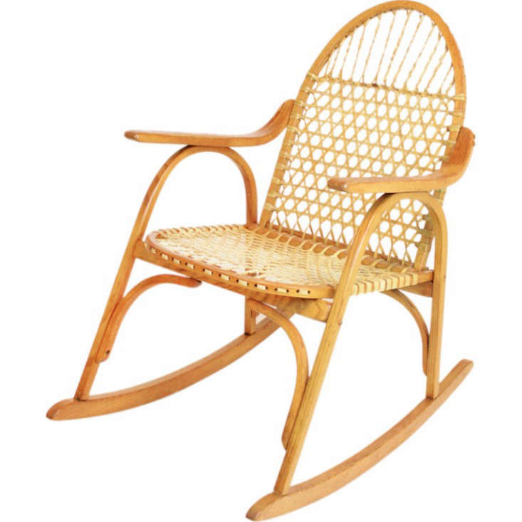 chair share this buy $ 1500 00 usd product snowshoe oak rocking chair ...
