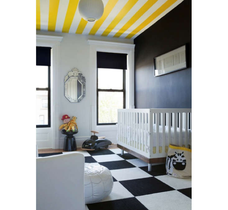 Yellow-Stripes-in-Kids-Room-The-Brooklyn-Home-Company